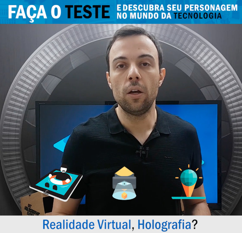 realidade virtual holografia ebook video