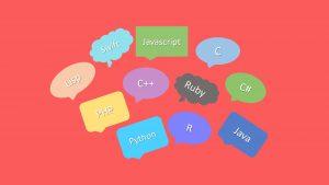 Diversas linguagens de programação
