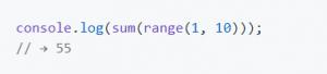 Instrução em JavaScript