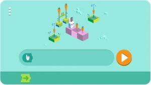 Google doodle, programação para crianças