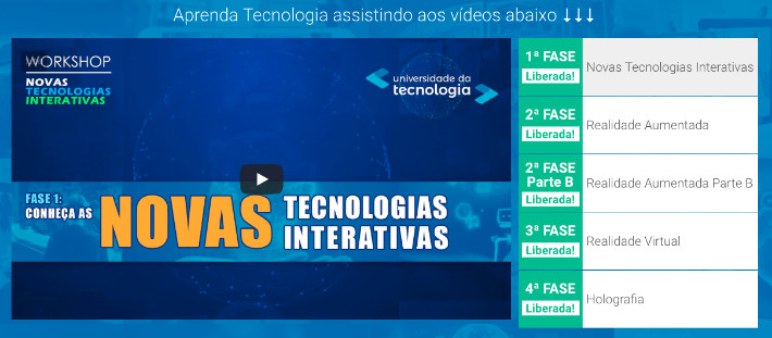 Workshop Novas Tecnologias Interativas