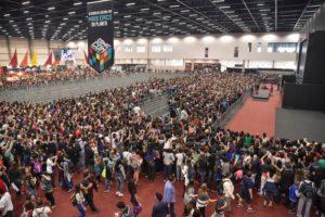 Image da feira Comic Con 2016 lotada